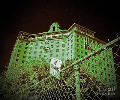 Photograph - Baker Hotel - Mineral Wells by AK Photography