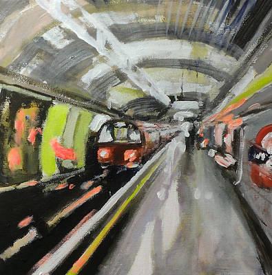 City Painting - Baker Street Station by Paul Mitchell