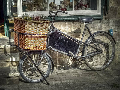 Photograph - Baker's Bicycle by Susan Leonard