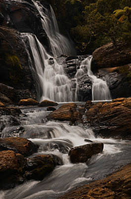 Photograph - Bakers Fall. Horton Plains National Park. Sri Lanka by Jenny Rainbow