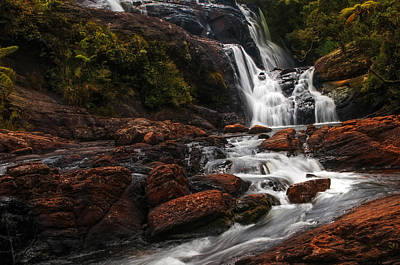 Photograph - Bakers Fall I. Horton Plains National Park. Sri Lanka by Jenny Rainbow