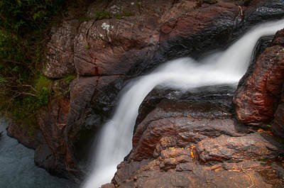 Photograph - Bakers Fall Vi. Horton Plains National Park. Sri Lanka by Jenny Rainbow