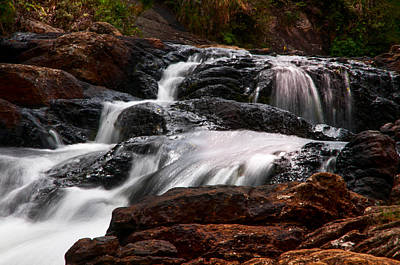 Photograph - Bakers Fall Viii. Horton Plains National Park. Sri Lanka by Jenny Rainbow