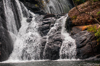 Photograph - Bakers Waterfall At Horton Plains Park. Sri Lanka by Jenny Rainbow