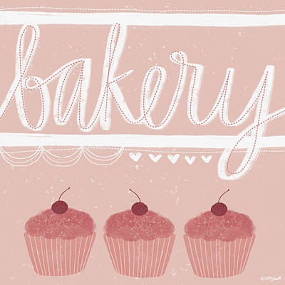 Bakery Art Print by Katie Doucette