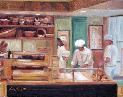 Painting - Bakery On The Champs Elysees by Erin Rickelton