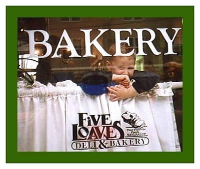 Impish Photograph - Bakery Window by Jaynie Jones