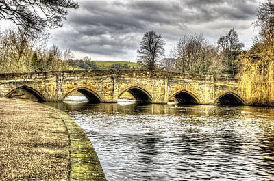 Photograph - Bakewell Bridge by Nick Field