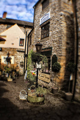 Photograph - Bakewell Fudge Shop - Peak District - England by Doc Braham
