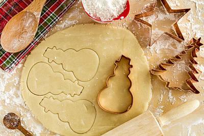 Photograph - Baking Cookies For Santa by Teri Virbickis
