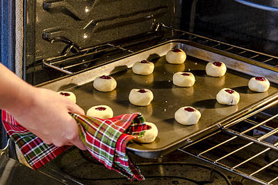 Photograph - Baking Cookies For The Holidays by Teri Virbickis