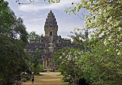 Photograph - Bakong Temple by David Freuthal