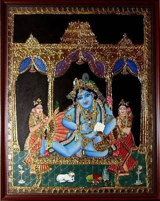 Painting - Balakrishna by Jayashree