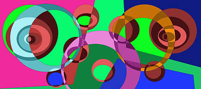 Rhythm And Blues Digital Art - Balance 0018 by Sir Josef - Social Critic -  Maha Art