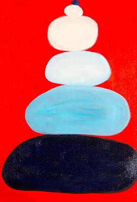 Painting - Balance Act by Phoenix De Vries