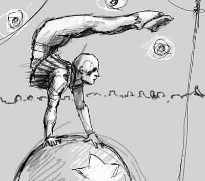 Balance Ball Art Print
