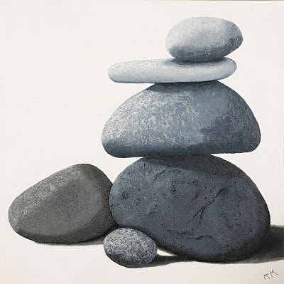 Painting - Balance by Garry McMichael