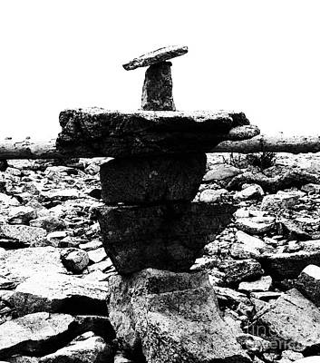 Photograph - Balance In Black And White by Patricia Januszkiewicz
