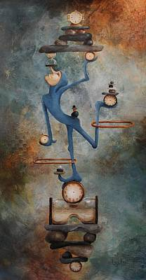 Balance Art Print by Lorraine Ulen