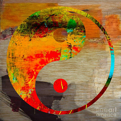 Yin Mixed Media - Balance by Marvin Blaine