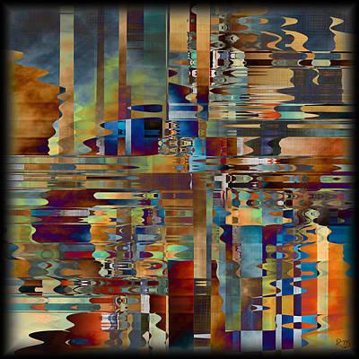 Digital Art - Balance Of Difference by Kim Redd