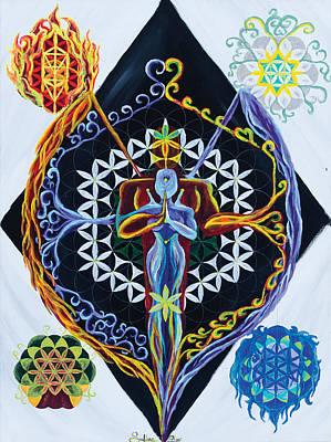 Balance Art Print by Siobhan Shier
