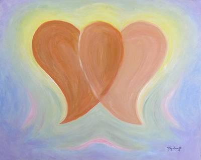 Painting - Balanced Love by Pat Heydlauff