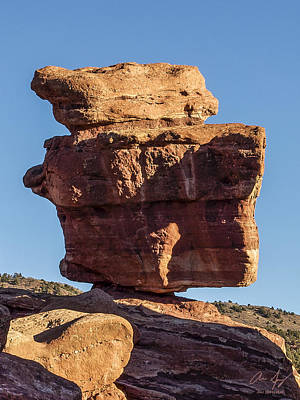Photograph - Balanced Rock by Aaron Spong
