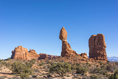 Photograph - Balanced Rock - Arches National Park - Moab Utah by Brian Harig