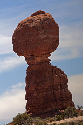Photograph - Balanced Rock At Arches National Park by Gregory Scott