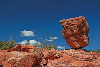 Photograph - Balanced Rock - Garden Of The Gods by Allen Beatty
