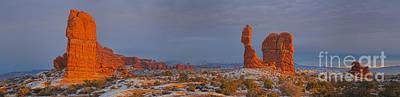 Photograph - Balanced Rock Panorama by Adam Jewell
