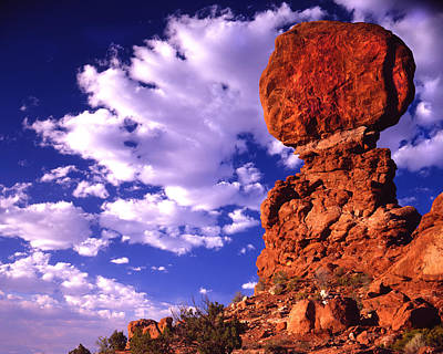 Photograph - Balanced Rock by Ray Mathis