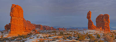 Photograph - Balanced Rock Small Panorama by Adam Jewell