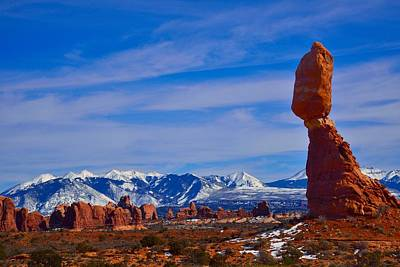 Photograph - Balanced Rock by Walt Sterneman