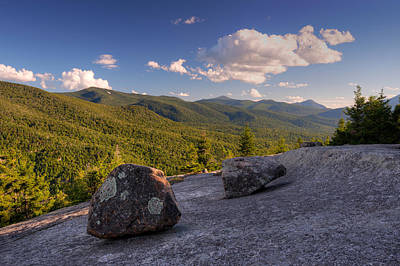 Balanced Rocks On Pitchoff Mountain Art Print by Panoramic Images