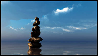 Digital Art - Balanced... by Tim Fillingim