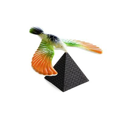 Balancing Bird Toy Art Print