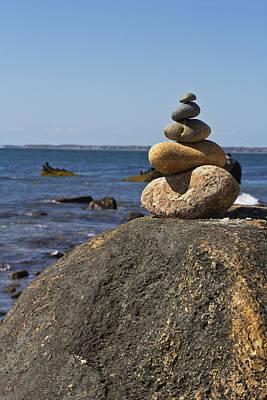 Balancing Rock 2 Art Print by Rosie McCobb