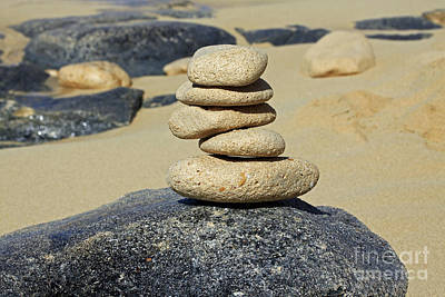 Photograph - Balancing Rocks by Denise Pohl