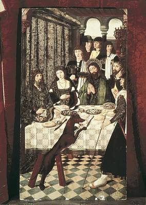 Banquet Photograph - Balbases, Master Of 15th C.. Miracle by Everett