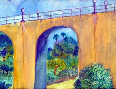 Painting - Balboa 163 Bridge by Jose Breaux