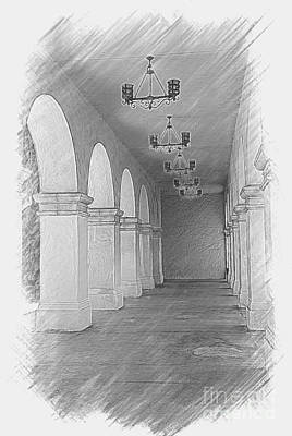 Photograph - Balboa Arches by Claudia Ellis
