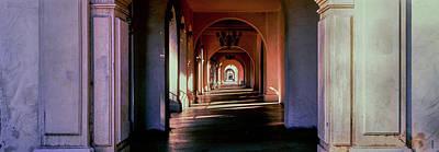 Balboa Park Arched Hallway, San Diego Art Print