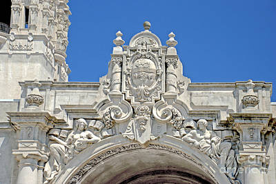 Photograph - Balboa Park Entrance Architecture by Claudia Ellis