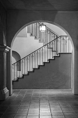 Photograph - Balboa Park Stairs by Dusty Wynne