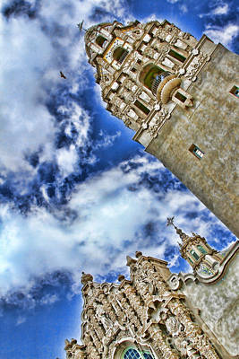 Photograph - Balboa Park's California Tower By Diana Sainz by Diana Raquel Sainz