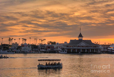 Photograph - Balboa Pavilion by Eddie Yerkish