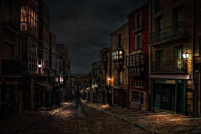 Lamp Light Photograph - Balborraz by Jose C. Lobato