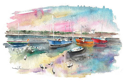 Painting - Balbriggan Harbour 02 by Miki De Goodaboom